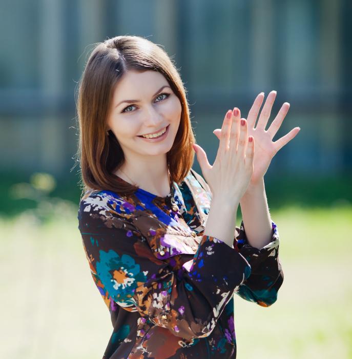 Bilder På Ukrainska Kvinnor